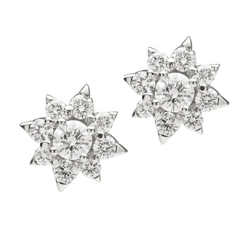 18CT DIAMOND STELLARE EARRINGS