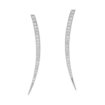 18CT DIAMOND FREYA EARRINGS