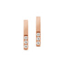 18CT ROSE GOLD DIAMOND JUNO STUD EARRINGS