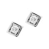 18CT DIAMOND TRULLI STUD EARRINGS