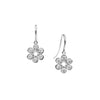 18CT DIAMOND PETALO DROP EARRINGS