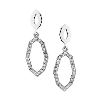 18CT DIAMOND BRINDABELLA DROP EARRINGS