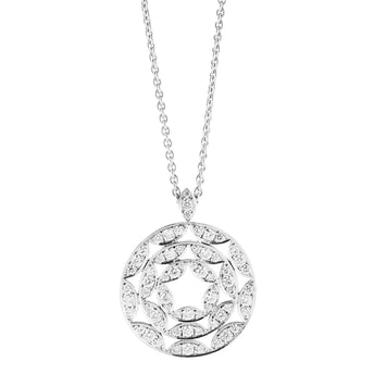 18CT DIAMOND CIENEGA PENDANT