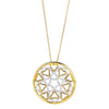 18CT DIAMOND CANTERBURY PENDANT