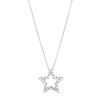 18CT DIAMOND MINI STAR PENDANT