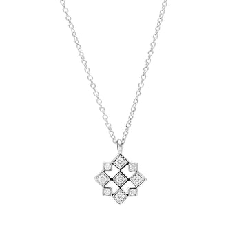 18CT DIAMOND TRULLI PENDANT