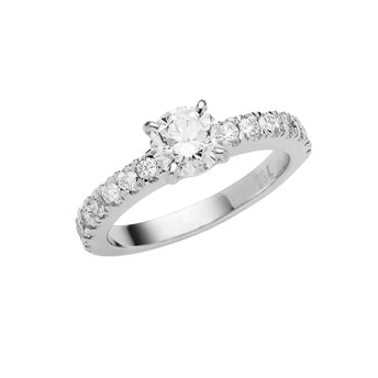 18CT DIAMOND COVENT RING