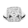 18CT DIAMOND COMO RING