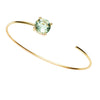 9CT GREEN AMETHYST CARLY BANGLE