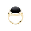 9CT ONYX MELROSE RING