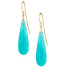 9CT PERUVIAN AMAZONITE EARRINGS