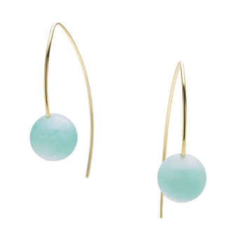 9CT AMAZONITE TOVA EARRINGS