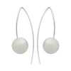 STG SILVER JADE TOVA EARRINGS