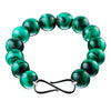 9CT MALACHITE BRACELET