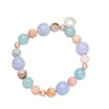 ELOISE BLUE LACE AND PEARL AGATE BRACELET
