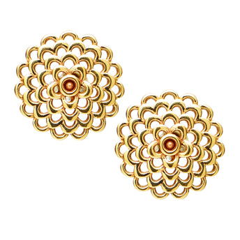 9CT GAUDI STUD EARRINGS