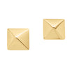 9CT PYRAMIDE STUD EARRINGS