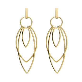 9CT GOLD OSTARA EARRINGS