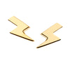 9CT LIGHTNING BOLT EARRINGS
