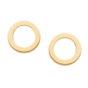 9CT CIRCLE EARRINGS