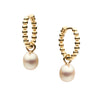 9CT ORIANA HUGGIE EARRINGS