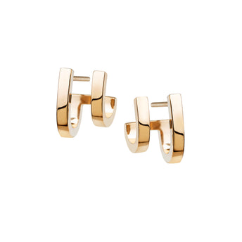 9CT DOPPIO EARRINGS
