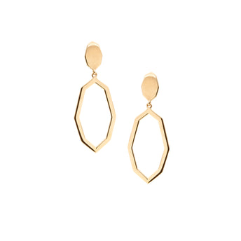 9CT BRINDABELLA DROP EARRINGS