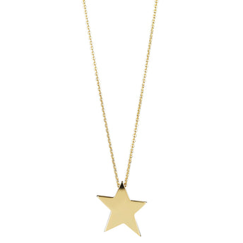 9CT STAR PENDANT