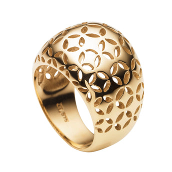 9CT GOLD GATSBY RING