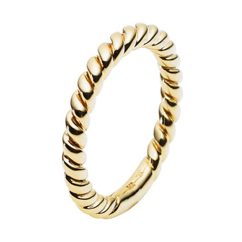 9CT ROPE RING