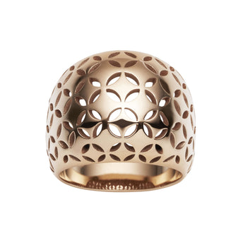 9CT ROSE GOLD GATSBY RING