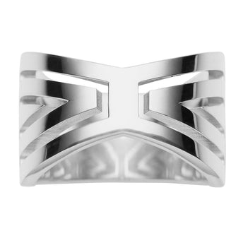 STG SILVER MATRIX RING