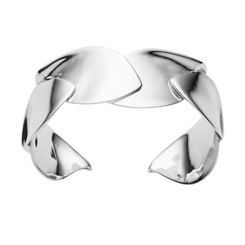STG SILVER MULBERRY BANGLE