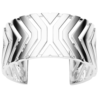 STERLING SILVER MATRIX BANGLE