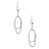 STERLING SILVER SILVER NOMBRE EARRINGS