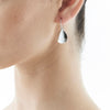 STG SILVER SADDLE EARRINGS