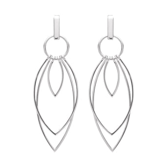 STG SILVER OSTARA EARRINGS