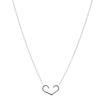 STERLING SILVER AMOUR PENDANT