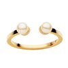 9CT ASTRA DOUBLE PEARL RING