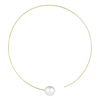 18CT YELLOW GOLD SOUTH SEA PEARL CARLA NECKLACE