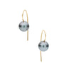 18CT TAHITIAN PEARL TORTONA EARRINGS