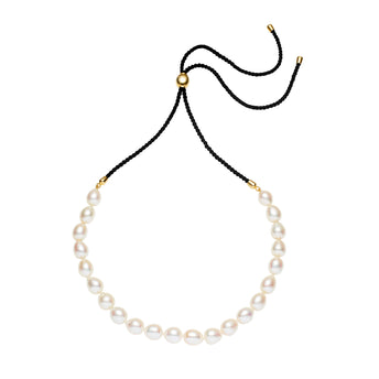 STG SIL GOLD PLATED PEARL TYLER NECKLACE