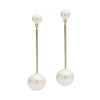 9CT GOLD & PEARL TAIKA EARRINGS