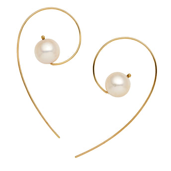9CT PEARL ANNA EARRINGS