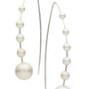 STG SILVER MADELINE PEARL EARRINGS