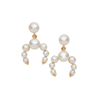 9CT PEARL AVOCA EARRINGS