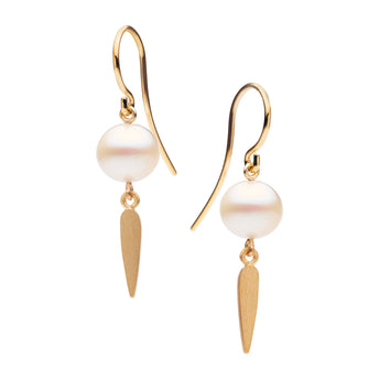 9CT NIELSEN PEARL EARRINGS
