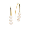 9CT PEARL LINDER EARRINGS