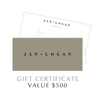 JAN LOGAN $500 GIFT VOUCHER