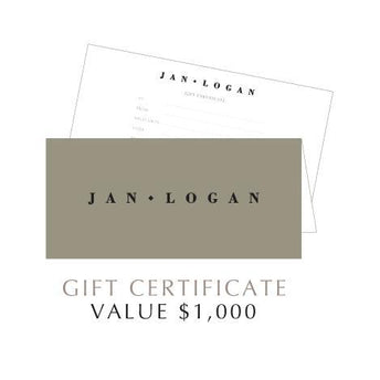 JAN LOGAN $1000 GIFT VOUCHER